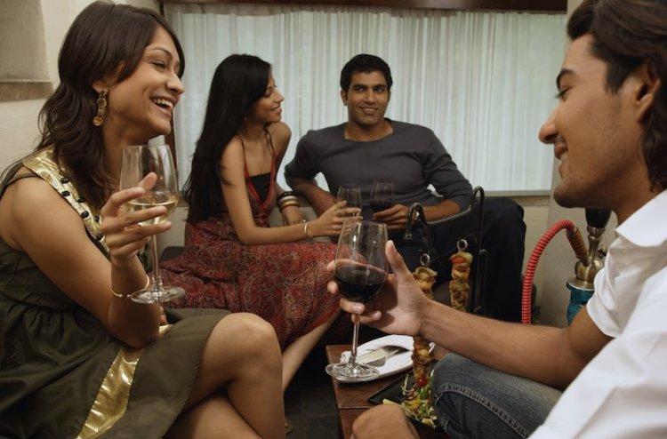 consommation de vin en inde: les femmes et les jeunes à l'avant garde