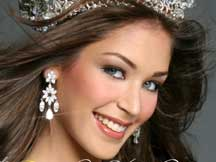 Miss Venezuela was crowned Miss Universe 2008 in a contest