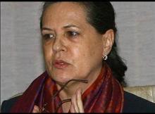 Congress chief Sonia Gandhi