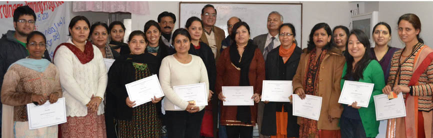 Teacher's trained during the initiative