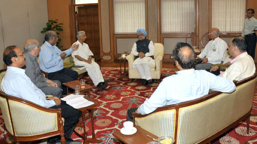 PM with Editors of Indian Newspaers