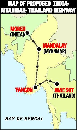 india and thailand road