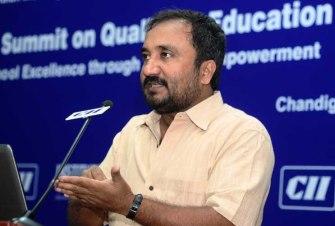 Anand addressing th eCII Education summit