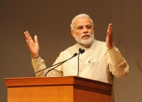 The Prime Minister, Shri Narendra Modi addressing at the first International Ramayan Mela, in New Delhi on February 23, 2015.