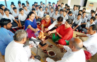 Hawan in school