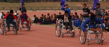 wheel chair race