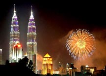 Petronas Tower in Malasiya