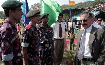 ARMY COMMANDER INAUGURATESDEWALI MELA AT CHANDIMANDIR
