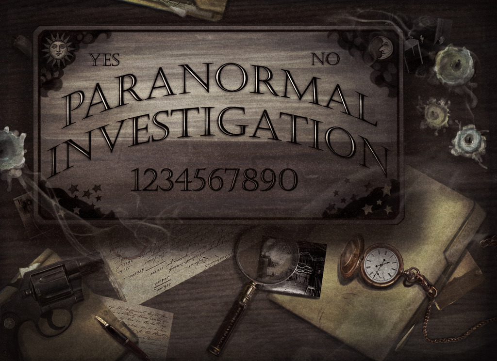 Paranormal Investigation by Touch Paper Press