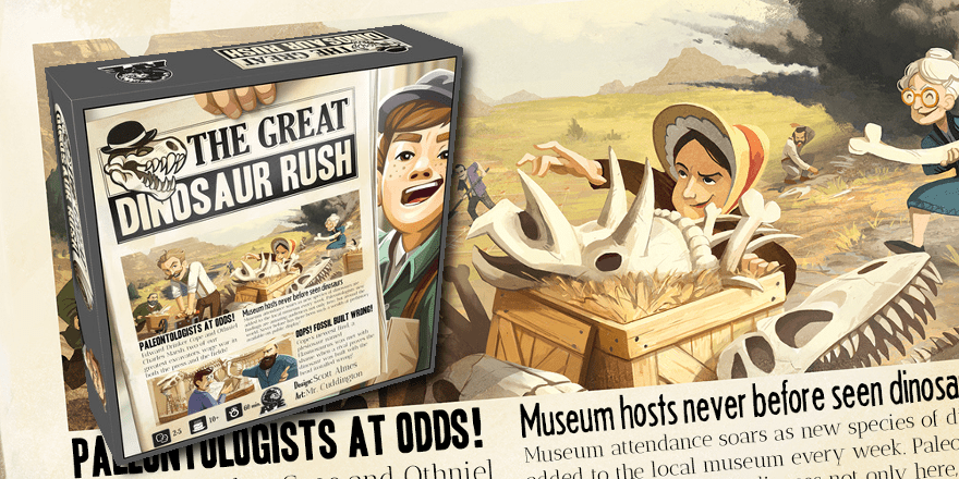 The Great Dinosaur Rush: Review