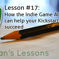 Lesson #17 - How the Indie Game Alliance can help your Kickstarter Campaign succeed