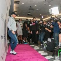 Amber Rose on Pink Carpet