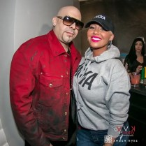 Mally Mall and Amber Rose