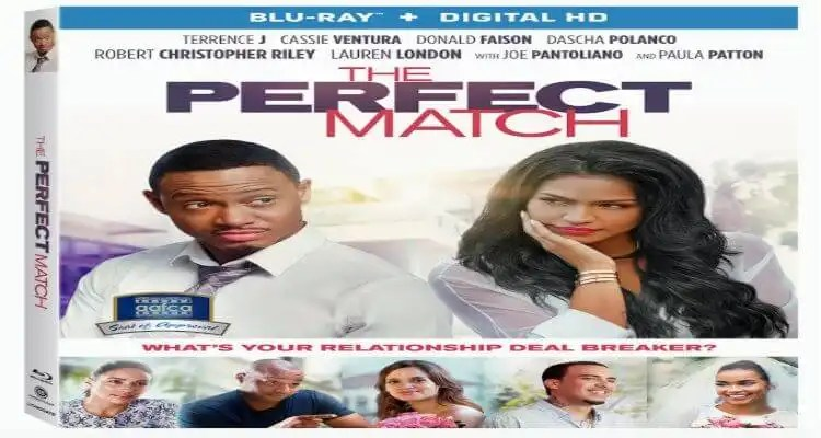 Terrence J and Cassie's 'The Perfect Match' hits Blu-ray, DVD, Digital HD and On Demand 7/19