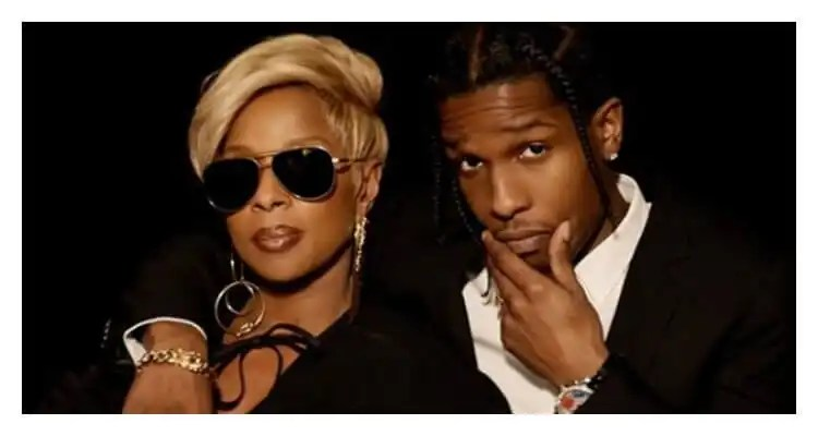 Mary J. Blige Feat. A$AP Rocky 'Love Yourself (Remix)'