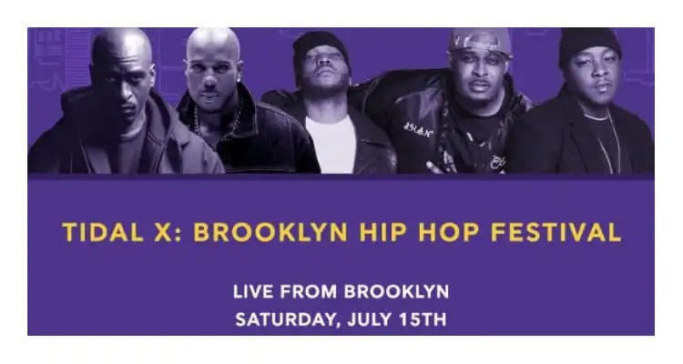 Tidal Partners with The 13th Annual Brooklyn Hip-Hop Festival