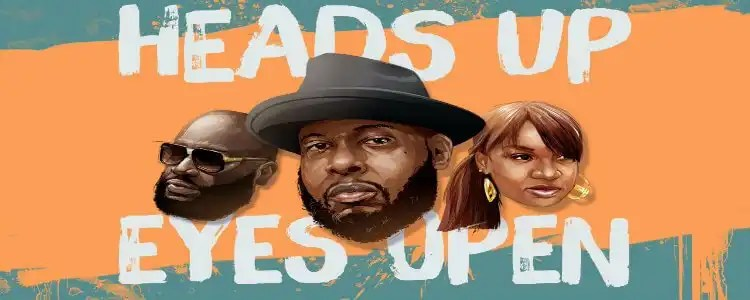 Talib Kweli 'Heads Up Eyes Open' feat. Rick Ross & Yummy Bingham