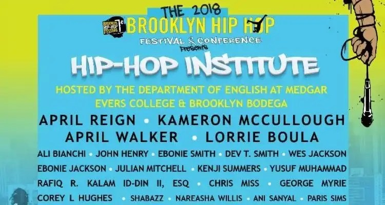 The Hip-Hop Institute at Medgar Evers College