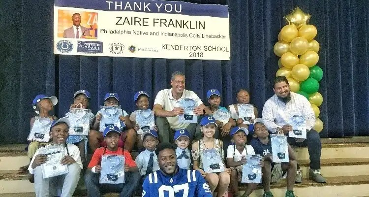 French Toast Teamed Up With NFL Draft Pick Zaire Franklin To Donate Uniforms