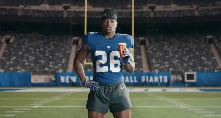 Saquon Barkley Now Running for Dunkin'