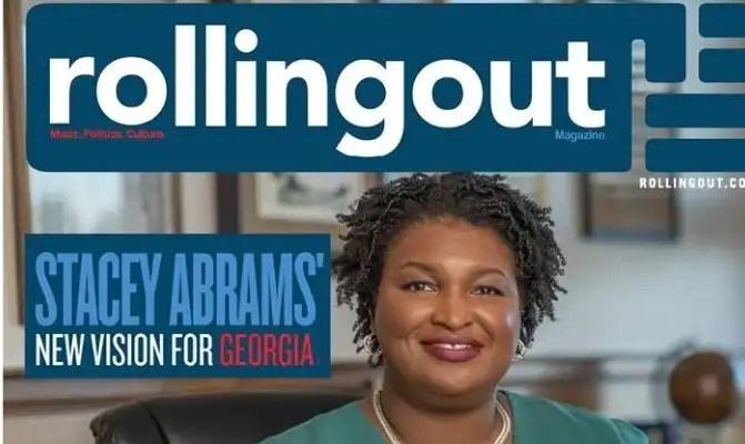 Stacey Abrams Covers November Issue of Rolling Out