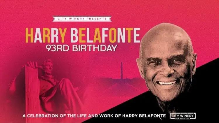 Common, Maxwell, Sheila E. & Talib Kweli Set To Celebrate Harry Belafonte On His 93rd Birthday
