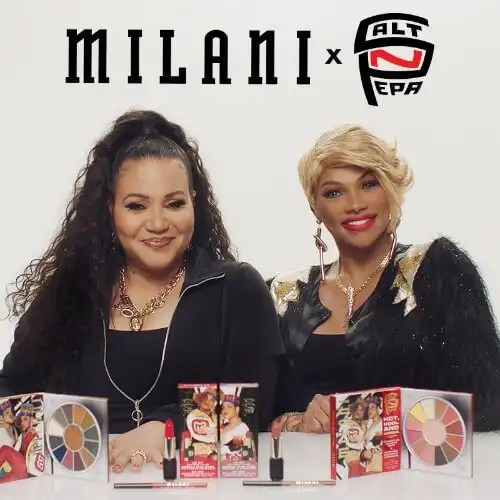 Milani Cosmetics Teams Up with Salt-N-Pepa