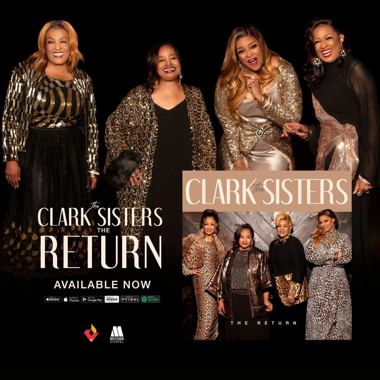 """The Clark Sisters' Highly Anticipated New Album, """"The Return"""" Available Now"""