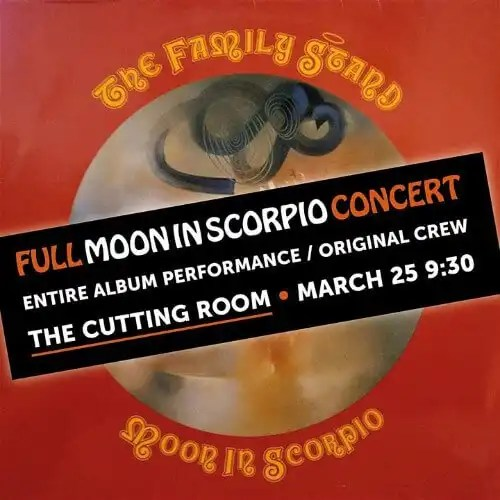 The Family Stand Featuring Sandra St. Victor 'Moon In Scorpio' Full Album Concert