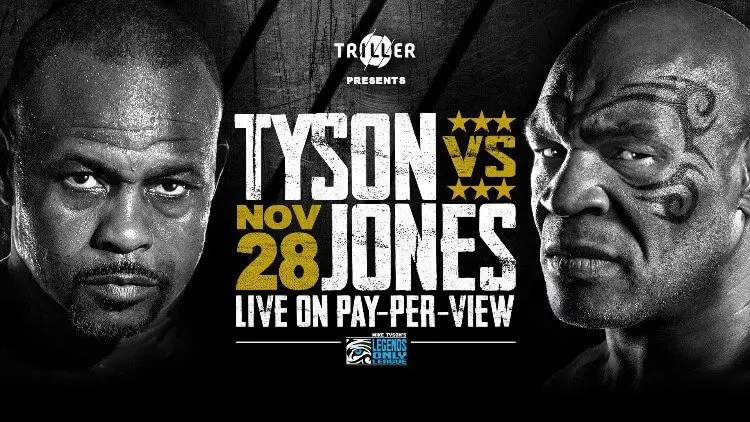 Mike Tyson's Return to the Ring Against Roy Jones Jr. Set For November 28