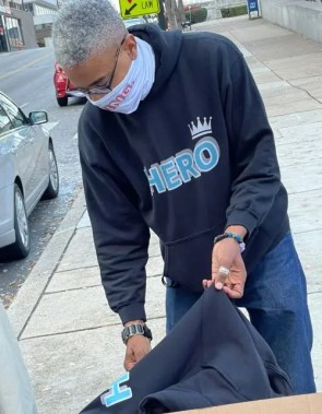 Sekou Writes unpacks his HERO Hoodies