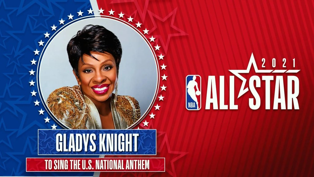 Soul Legend Gladys Knight Will Sing the National Anthem at the NBA All-Star Game in Atlanta