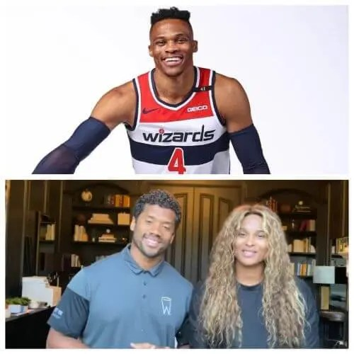 Russell Westbrook Joins Russell Wilson and Ciara to Help Minority-Owned Businesses Gain Access to Insurance