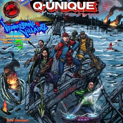 Q-Unique 'Verrazzano Villains' (feat. Cappadonna, Taking Back Sunday & DJ Eclipse)