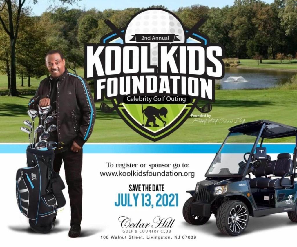 Kool & the Gang's Robert Kool Bell Hosting the Kool Kids Foundation Golf Tournament in July 2021