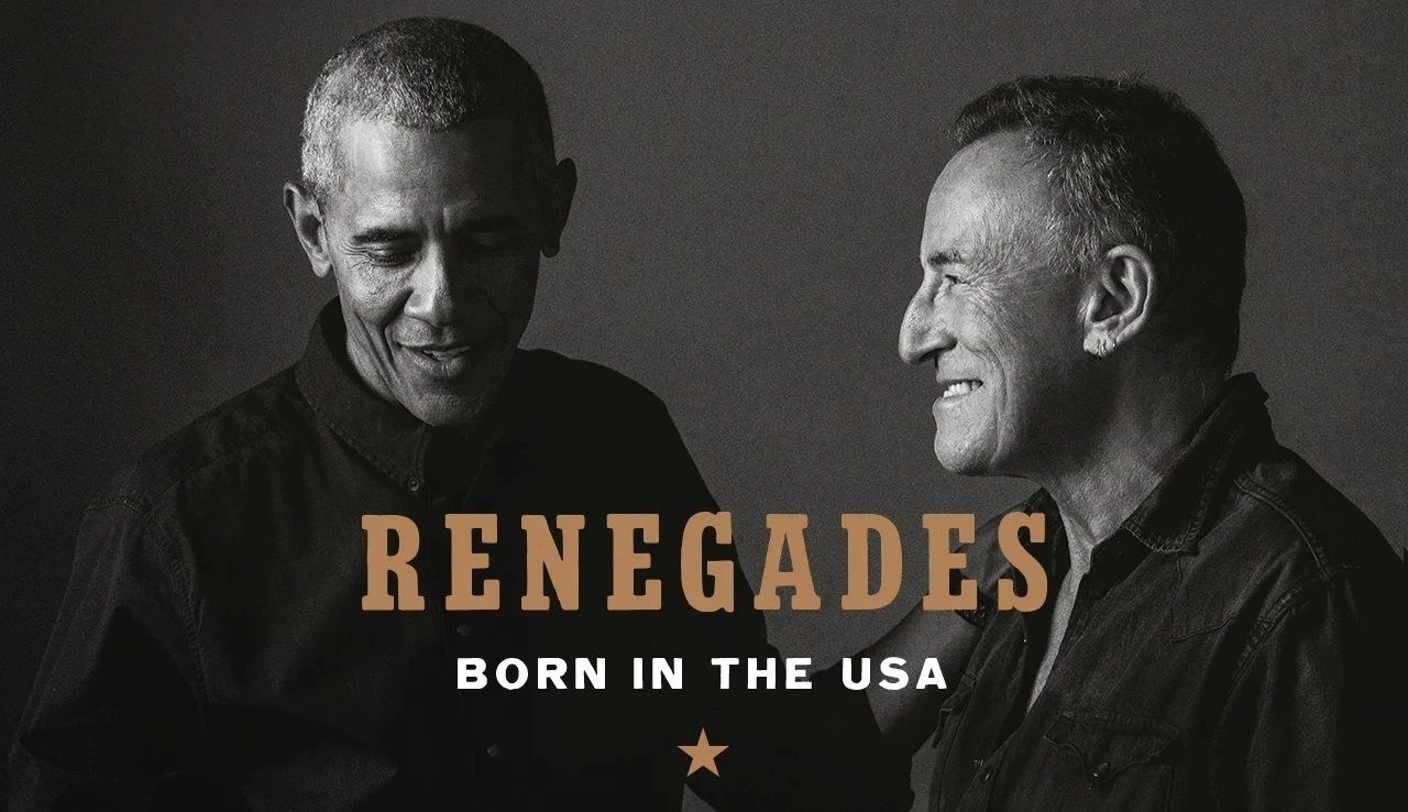 President Barack Obama and Bruce Springsteen Are 'RENEGADES: Born in the USA'