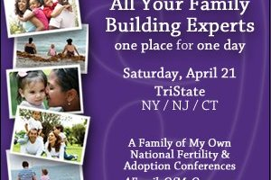 I'll Be at the A Family of My Own Conference on Saturday