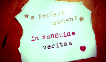 In sanguine, veritas.