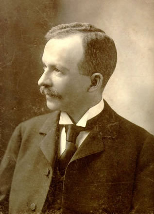 Charles Waddell Chesnutt at the age of 40.