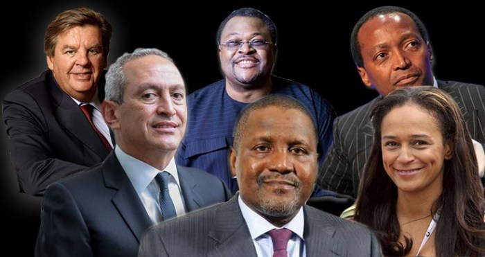 Top 10 richest men in Africa and their net worth