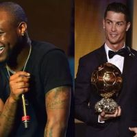 Davido honours Cristiano Ronaldo with new haircut (photos)