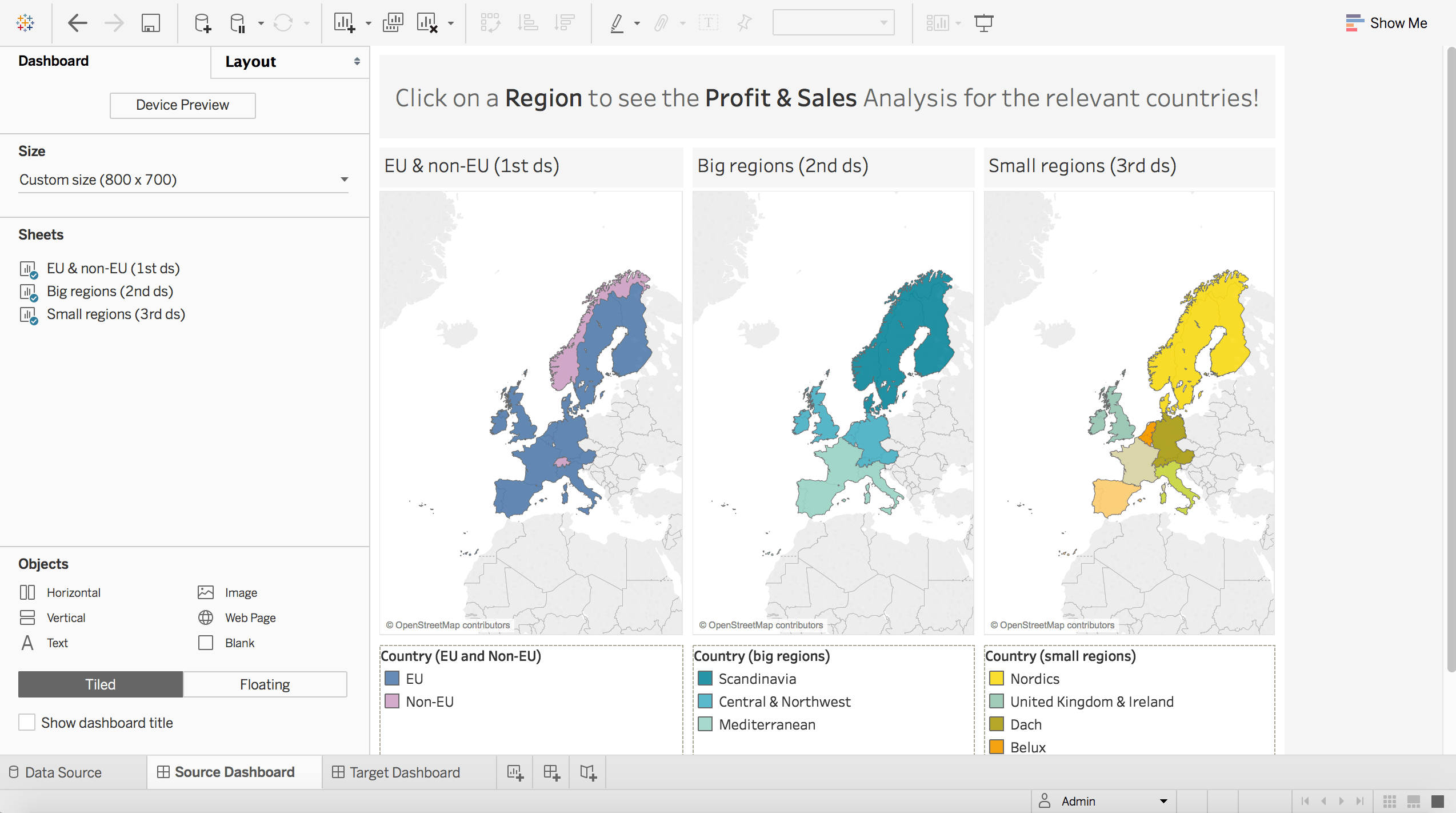 Tableau Use Case Filtering Using Dashboard Actions And Groups