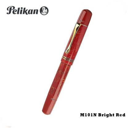 Pelikan M101 Red Fountain Pen