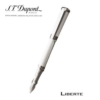 Dupont Liberte White Fountain Pen
