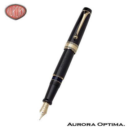Aurora Optima Black fountain pen