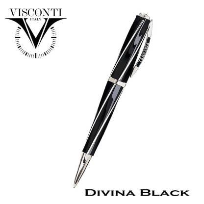 Visconti Divina Black Ball Pen
