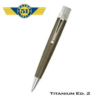 Retro51 Titanium ED 2 Roller Ball