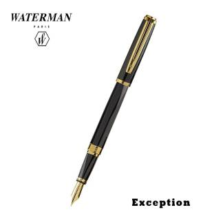 Waterman Exception Slim Black Fountain Pen