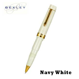 Bexley Navy White Roller Ball