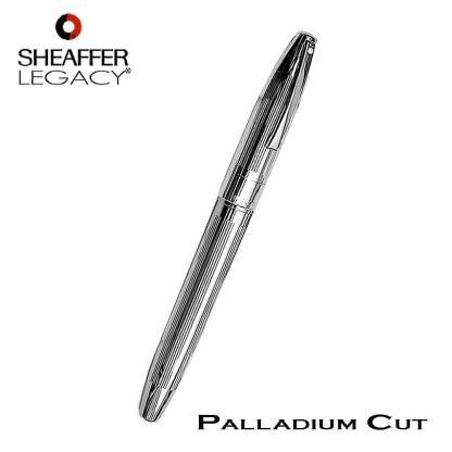 Sheaffer Legacy Deep Cut Palladium Fountain Pen